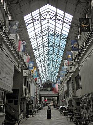 Nashville Arcade - Interior view facing west toward 5th Avenue