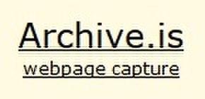 Online web archive