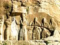 Ardashir i's relief at Firuzabad, Fars, Iran.JPG