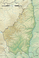 Ardeche department relief location map.jpg