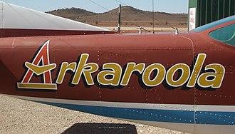 Arkaroola - Arkaroola plane.