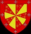 Armes de Havrech, seigneurs de Presles (branche bâtarde d'Enghien).png