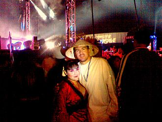 Monster Massive - DJ Armin Van Buuren in costume at Monster Massive 2009