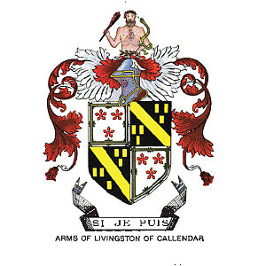 Livingston family - Image: Arms of Livingston of Callendar