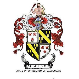 Livingston family - Image: Arms of Livingston of Callendar