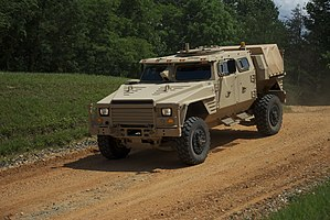 Army tests new tactical vehicle for Marines (4949335556).jpg