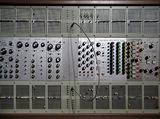 Arp 2500 the synth found in the movie Close Encounters of the Third Kind circa 1976