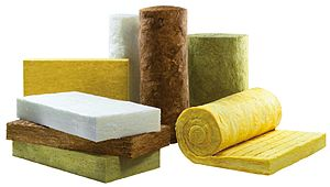 Charles Corydon Hall - Styles of mineral wool as mat and roll