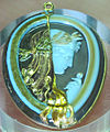 Arte romana, cammeo commesso con julia o cerere, sardonice e oro, 15-1 ac..JPG