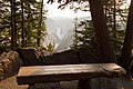 Artist Point wooden bench with a view (30023926788).jpg