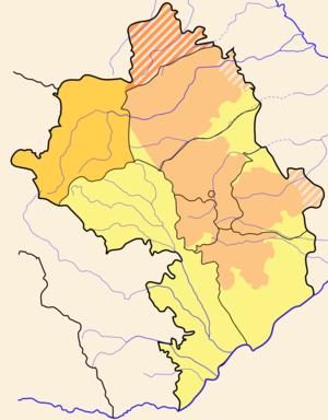 Shahumyan Region - Image: Artsakh locator Shahumian