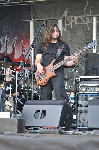 Ashes You Leave - Marta Batinić and Luka Petrović at the 2009 INmusic festival