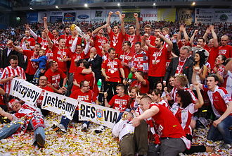 Asseco Resovia Rzeszów - After winning Polish Championship in season 2011/2012.