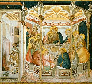 Pietro Lorenzetti - Last Supper, Basilica of San Francesco d'Assisi
