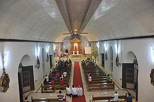 Tanauan, Leyte - Assumption Parish, main altar from Tanauan, Leyte