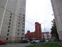 Skyline of Yuzhnoportovy縣