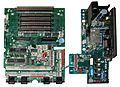 Atari 800 mainboard and daughterboard.jpg