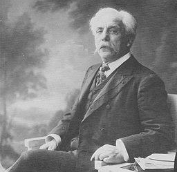 Atelier Nadar - Gabriel Fauré (1845-1924), Komponist (Zeno Fotografie)