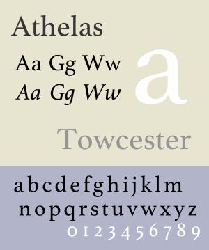 Athelas (typeface) - Image: Athelas sample image