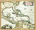 Atlas Van der Hagen-KW1049B13 080-INSULAE AMERICANA in Oceano ADIACENTES, a C. de May usque ad Lineam AEquinoctialem.jpeg