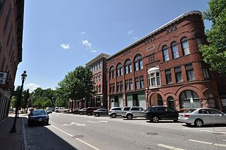 Auburn Commercial Historic District United States historic place