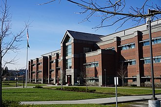 Auburn High School (Washington) - Image: Auburn Senior High School Front