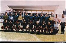 Formazione degli anni novanta.