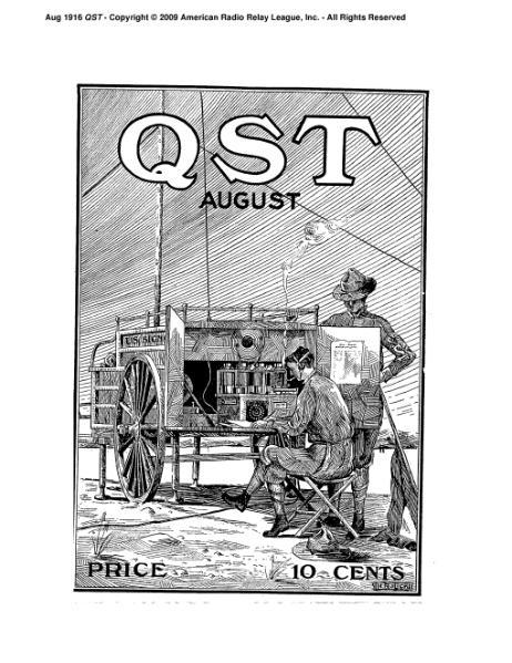 File:August 1916 QST.djvu