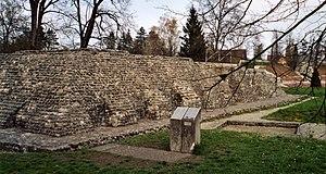 Augusta Raurica - Temple at Augusta Raurica