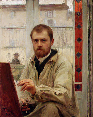 Émile Friant - Self-portrait, 1887