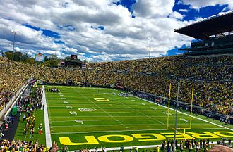 2016 Oregon Ducks football team - Opening game vs. UC Davis, September 3, 2016