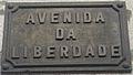 Avenida da Liberdade de Braga (Placa).JPG