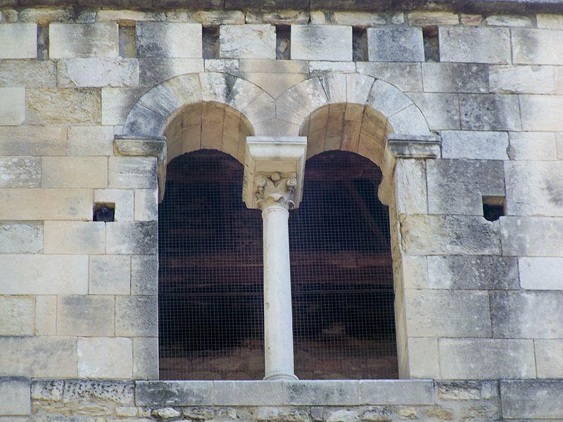 Abbaye de Saint Ruf à Avignon: détail clocher