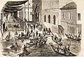 Avignon Le perron de St Agricol 1856.jpg