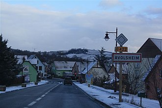 Avolsheim - Avolsheim in winter