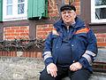 Axel Nuretinoff, einer der Stauwärter vom NLWKN Niedersächsischer Landesbetrieb für Wasserwirtschaft, Küsten- und Naturschutz, Betriebstelle Süd, Arbeitsplatz Walzenwehr in Celle, Torplatz 3.jpg