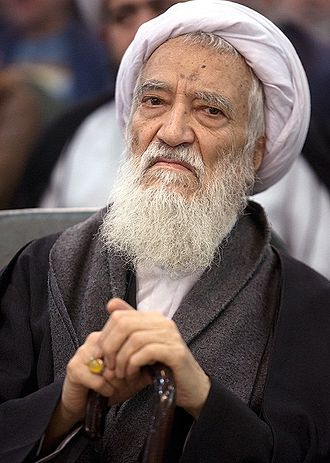 Expediency Discernment Council - Image: Ayatollah Movahedi Kermani at Principlists Congress