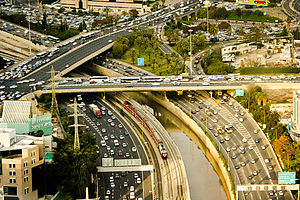Highway 20 (Israel) - Arlozorov Interchange