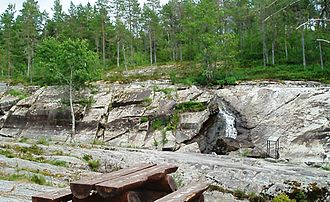 Stod, Norway - View of the Bølareinen rock carvings