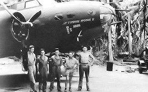 Plaine Des Gaiacs Airfield - Image: B 17E 41 9211 98th Bomb Squadron