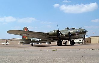 Lone Star Flight Museum - The largest aircraft owned and operated by the museum is a Boeing B-17G, christened Thunderbird.