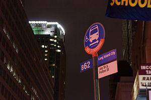 Crosstown Line (Brooklyn surface) - B62 stop at Jay St-MetroTech.