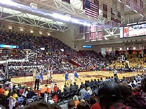 Conte Forum - Image: BC vs. Duke 2010
