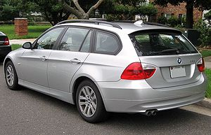 BMW 3 Series (E90) - Pre-facelift BMW 328i wagon (US)