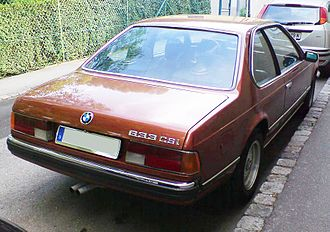 BMW 6 Series - E24 633CSi
