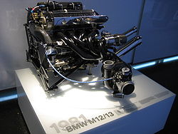 BMW Formula One Engine M12/13, 1500cc turbocharged inline 4.