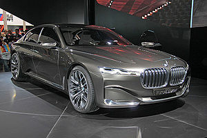 Auto China - BMW Vision Future Luxury at Auto China 2014