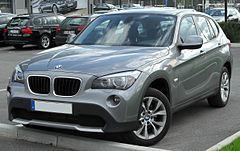 BMW X1 I (E84) przed liftingiem