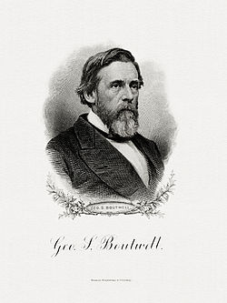 BOUTWELL, George S-Treasury (BEP engraved portrait)