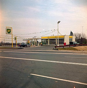 BP Canada - BP gas station in Toronto, ca. 1979
